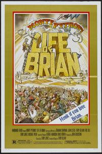 """Life of Brian (Orion, 1979). One Sheet (27"""" X 41"""") Style B. Comedy"""