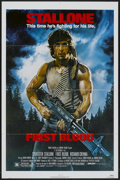 """Movie Posters:Action, First Blood (Orion, 1982). One Sheet (27"""" X 41""""). Action...."""