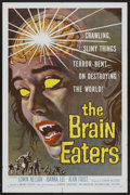 "Movie Posters:Horror, The Brain Eaters (American International, 1958). One Sheet (27"" X41""). Horror...."