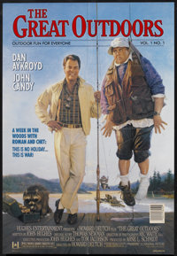 "The Great Outdoors (Universal, 1988). One Sheet (27"" X 40"") DS. Comedy"