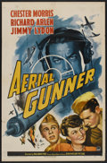 "Movie Posters:War, Aerial Gunner (Paramount, 1943). One Sheet (27"" X 41"") Style A.War...."