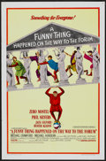 "Movie Posters:Comedy, A Funny Thing Happened on the Way to the Forum (United Artists, 1966). One Sheet (27"" X 41"") Style A. Comedy...."