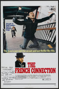 "Movie Posters:Academy Award Winner, The French Connection (20th Century Fox, 1971). One Sheet (27"" X 41""). Academy Award Winner...."