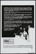 """Movie Posters:Drama, Cries and Whispers (New World, 1973). One Sheet (27"""" X 41"""") Review Style. Drama...."""