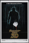 """Movie Posters:Horror, Friday the 13th Part 3 Lot (Paramount, 1982). One Sheets (2) (27"""" X 41""""). Horror.... (Total: 2 Items)"""