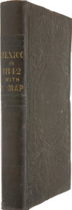 Books, [George Folsom.] Mexico in 1842: a Description of theCountry, its Natural and Political Features; with a Sketch o...