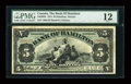 Canadian Currency: , Hamilton, ON- Bank of Hamilton $5 June 1, 1914 Ch. # 345-20-04. ...