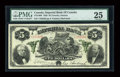 Canadian Currency: , Toronto, ON- Imperial Bank of Canada $5 Jan. 2, 1920 Ch. #375-16-06. ...
