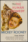 "Movie Posters:Drama, The Human Comedy (MGM, 1943). One Sheet (27"" X 41"") Style C. Drama...."