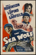 "Movie Posters:Adventure, The Sea Wolf (Warner Brothers, 1941). One Sheet (27"" X 41"").Adventure...."