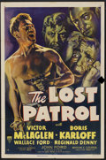 """Movie Posters:War, The Lost Patrol (RKO, R-1949). One Sheet (27"""" X 41"""") Style A.War...."""