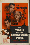 "Movie Posters:Drama, The Trail of the Lonesome Pine (Paramount, R-1955). One Sheet (27""X 41""). Drama...."