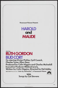 "Harold and Maude Lot (Paramount, 1971). One Sheets (3) (27"" X 41""). Comedy.... (Total: 3 Items)"