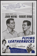 """Movie Posters:War, Flying Leathernecks Lot (RKO, R-1960s). One Sheets (6) (27"""" X 41""""). War.... (Total: 6 Items)"""