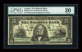 Canadian Currency: , Montreal, P.Q.- The Molsons Bank $5 Jan. 2, 1912 Ch. # 490-32-02. ...