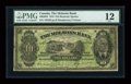 Canadian Currency: , Montreal, P.Q.- The Molsons Bank $10 Jan. 3, 1916 Ch. # 490-36-02....
