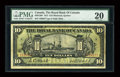 Canadian Currency: , Montreal, P.Q.- The Royal Bank of Canada $10 Jan. 2, 1913 Ch. #630-12-08. ...
