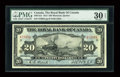 Canadian Currency: , Montreal, P.Q.- The Royal Bank of Canada $20 Jan. 2, 1913 Ch. #630-12-12. ...
