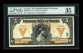Canadian Currency: , Toronto, ON- The Standard Bank of Canada $5 Jan. 2, 1918 Ch. #695-18-06. ...