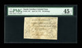 Colonial Notes:South Carolina, South Carolina April 10, 1778 30s PMG Choice Extremely Fine 45Net....
