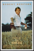 "Movie Posters:Sports, The Natural (Tri-Star, 1984). One Sheet (27"" X 41""). Sports...."