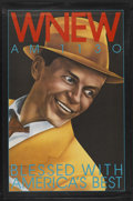 """Movie Posters:Musical, Frank Sinatra Radio Station Promo Poster (WNEW, 1991). Promo Poster(29.5"""" X 45""""). ..."""