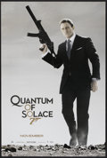 "Movie Posters:James Bond, Quantum of Solace (MGM, 2008). One Sheet (27"" X 40"") SS Advance. James Bond...."