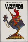 "Movie Posters:Animated, Wizards (20th Century Fox, 1977). One Sheet (27"" X 41"") Advance.Animated...."