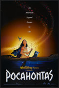 "Movie Posters:Animated, Pocahontas (Buena Vista, 1995). One Sheet (27"" X 40"") DS. Animated...."