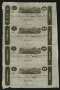 Obsoletes By State:Ohio, Cincinnati, OH- Unknown Issuer $5-$3-$2-$1 Uncut Sheet of PostNotes. ... (Total: 1 sheet)