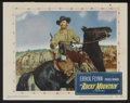 """Movie Posters:Western, Rocky Mountain (Warner Brothers, 1950). Lobby Cards (3) (11"""" X 14""""). Western.... (Total: 3 Items)"""