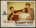 "Movie Posters:Adventure, Swamp Fire (Paramount, 1946). Lobby Card (11"" X 14""). Adventure...."
