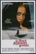 """Movie Posters:Drama, The French Lieutenant's Woman (United Artists, 1981). One Sheet(27"""" X 41"""") and Lobby Card Set of 8 (11"""" X 14""""). Drama.... (Total:9 Items)"""