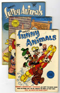 "Golden Age (1938-1955):Funny Animal, Fawcett's Funny Animals #39-49 Group - Davis Crippen (""D Copy"")pedigree (Fawcett, 1946-47).... (Total: 11 Comic Books)"