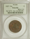Mexico: , 1897-Mo 1C Mexico MS64 Red and Brown PCGS. PCGS Population (1/0).(#521873)...
