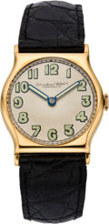 Timepieces:Wristwatch, International Watch Co. Early Gold Wristwatch, circa 1920. ...