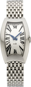Timepieces:Wristwatch, Bedat & Co. New Lady's No. 3 Stainless Bracelet Watch, modern. ...