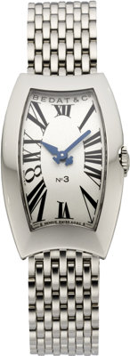 Bedat & Co. New Lady's No. 3 Stainless Bracelet Watch, modern