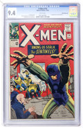 Silver Age (1956-1969):Superhero, X-Men #14 White Mountain pedigree (Marvel, 1965) CGC NM 9.4 Whitepages....