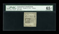 Colonial Notes:Connecticut, Connecticut October 11, 1777 5d PMG Gem Uncirculated 65 EPQ....