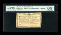Colonial Notes:New York, New York August 2, 1775 (Water Works) 2s PMG Choice Uncirculated 64EPQ....