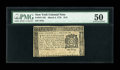 Colonial Notes:New York, New York March 5, 1776 $1/8 PMG About Uncirculated 50....
