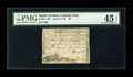 Colonial Notes:North Carolina, North Carolina April 2, 1776 $3 PMG Choice Extremely Fine 45EPQ....