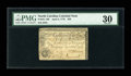 Colonial Notes:North Carolina, North Carolina April 2, 1776 $20 PMG Very Fine 30....