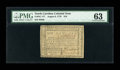 Colonial Notes:North Carolina, North Carolina August 8, 1778 $10 PMG Choice Uncirculated 63....
