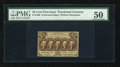 Fractional Currency:First Issue, Fr. 1280 25c First Issue PMG About Uncirculated 50....