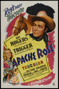 "Movie Posters:Western, Apache Rose (Republic, 1947). One Sheet (27"" X 41""). Western...."