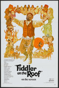 "Movie Posters:Musical, Fiddler on the Roof (United Artists, 1972). One Sheet (27"" X 41"") Flat-Folded. Musical...."