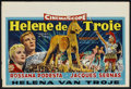 "Movie Posters:Adventure, Helen of Troy (Warner Brothers, 1956). Belgian (14.75"" X 22"").Adventure...."