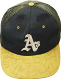 Autographs:Others, 1984 Oakland Athletics Team Signed Cap....